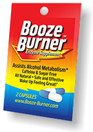 Booze Burner 3-Pack for a night of partying.